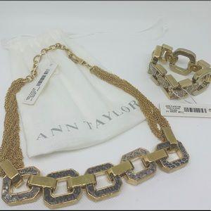 Ann Taylor Choker and Bracelet